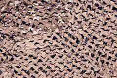 Маскировочная сетка для маскировать коричневого цвета Стоковое Изображение