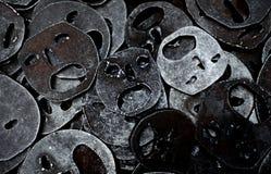 Маски еврейского в еврейском музее, Берлине Стоковые Фотографии RF
