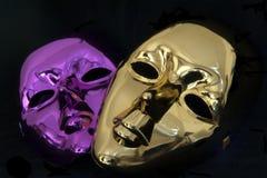 маски масленицы предпосылки черные Стоковое фото RF