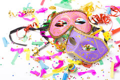 маски масленицы Стоковая Фотография
