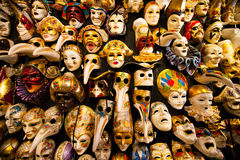 маски праздника потехи масленицы Стоковые Изображения