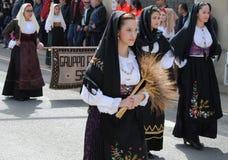 Маски Сардинии Стоковая Фотография
