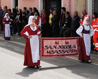 Маски Сардинии Стоковая Фотография RF
