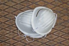 2 маски дыхания Стоковые Фото