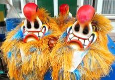 Масленица Базеля - красного носа стоковое фото
