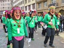 Масленица Базеля - Earwig2 стоковое фото