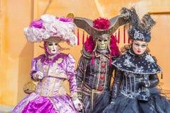 Масленица 2019 Венеции стоковые изображения rf