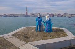 Масленица 2019 Венеции стоковая фотография rf