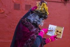 Масленица 2019 Венеции Венеция стоковое фото
