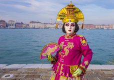 Масленица 2019 Венеции стоковое изображение rf