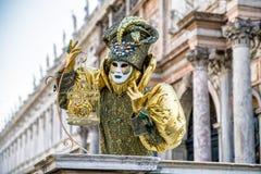 Масленица Венеции 2018 Стоковая Фотография RF