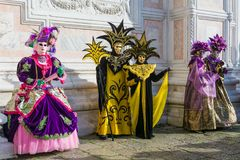 масленица маскирует venice Масленица Венеции ежегодный фестиваль проведенный в Венеции, Италии Фестиваль слово известное для свое Стоковые Фото