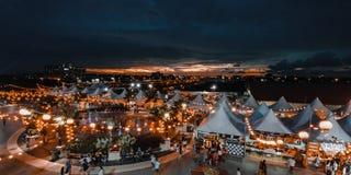 Масленица фонарика Bintulu, Саравак стоковые фотографии rf