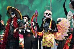 Масленица Dia de los Muertos день мертвый Стоковые Фото