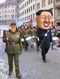 Масленица Jong-ООН Базеля - Ким Стоковые Фотографии RF