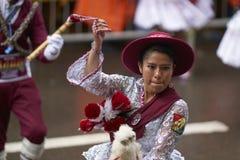Масленица Oruro в Боливии Стоковое Изображение RF