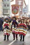 масленицы frankfurt -го улица 2010 парада в феврале Стоковое Фото