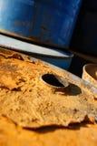 масло бочонков Стоковые Фото