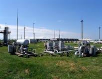 масло газовой промышленности естественное Стоковое фото RF