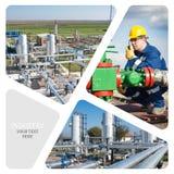 масло газовой промышленности Стоковое фото RF