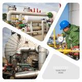 масло газовой промышленности Стоковые Фотографии RF