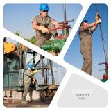 масло газовой промышленности Стоковые Изображения RF
