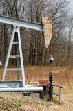 масло деррика-кран малое Стоковое Изображение