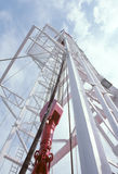 масло деррика-кран Стоковые Изображения RF