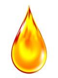 масло иллюстрации падения золотистое Стоковые Фотографии RF