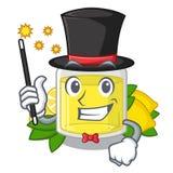 Масло лимона волшебника полило внутри стекло мультфильма бесплатная иллюстрация