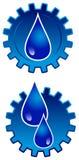 масло логоса шестерни бесплатная иллюстрация