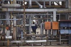 масло нафты индустрии Стоковые Изображения RF