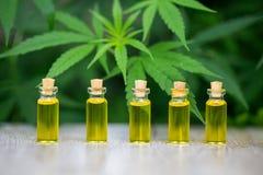 Масло пеньки, медицинские продукты марихуаны включая лист конопли, cbd и масло хэша, нетрадиционная медицина стоковое изображение rf