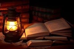 масло светильника старое Стоковое Изображение