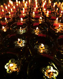 масло светильников Стоковое фото RF