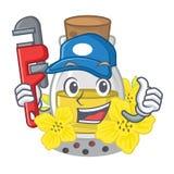 Масло семени водопроводчика канола на мультфильме бесплатная иллюстрация