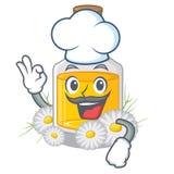 Масло стоцвета шеф-повара в форме мультфильма иллюстрация вектора
