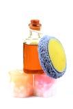 масло тела scrub Стоковая Фотография RF