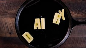 Масло формулирует молокозавод сток-видео