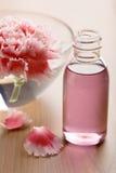 масло цветка бутылки необходимое стоковые изображения