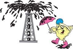 масло texas человека Бесплатная Иллюстрация