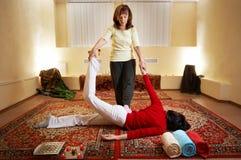 массаж тайский Стоковое Изображение RF
