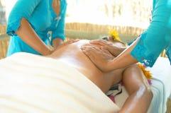 массаж тайский Стоковое фото RF