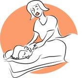массаж бесплатная иллюстрация