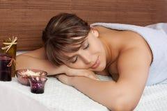 массаж Стоковая Фотография RF