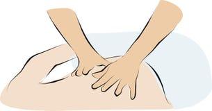 массаж Стоковые Изображения RF