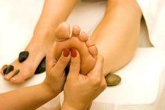 массаж Стоковые Фотографии RF