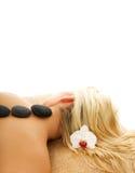 массаж Стоковое Фото