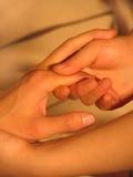 массаж Стоковая Фотография