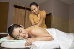 массаж 7 тайский Стоковая Фотография RF
